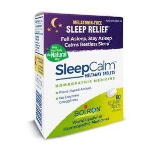 Boiron SleepCalm Sleep-aid Tablets (60) Sleeping Relief Fall, Stay, Calm Natural