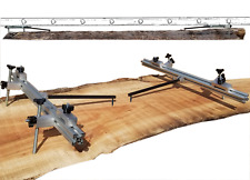 Chainsaw Mill Modular Guides for Extention Ladder Rail Attachment.