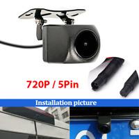 5Pin Plug Car Rear View Camera Waterproof For Auto DVR Driving Recorder Dash Cam