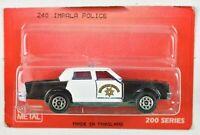 Majorette Chevrolet Impala Police Highway Patrol 1:69 Scale #240 MOC