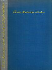 Gallwitz, Paula Moder figlio-Becker, lettere U DIARIO-foglie, Kurt Wolff Vlg 1920