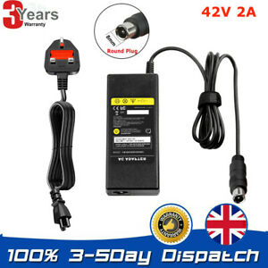 Electric Scooter Battery Charger For Xiaomi Mi M365/Pro UK Adapter Es1 2 3 4