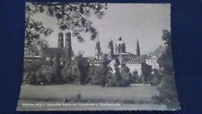 Schöne alte AK München Englischer Garten Theatinerkirche gelaufen 1959 M107