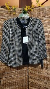 Evan Picone Sz 18 Jacket & XL Sleeveless Sweater NWT 2 pc.$163.00  Black Gold