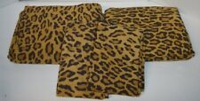Ralph Lauren Aragon Leopard 4P Full Sheet Set New Rare Original
