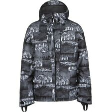 2014 NWOT O'NEILL JEREMY JONES 2L JACKET XXL $320 Spectre Night black white grey