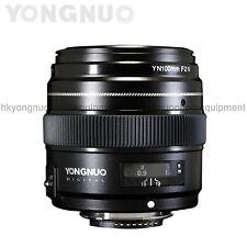 Yongnuo 100mm F2 N Auto Prime Focus lens for Nikon D3400 D3300 D3200 D3100 D3000