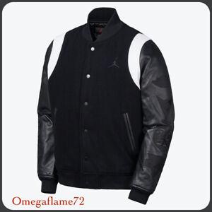 """Nike Jordan DNA Destroyer Varsity Jacket, AT9958-011, Sz XXL """"Black Cat"""""""