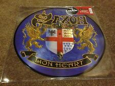 SAXON LION HEART PICTURE DISC  RECORD STORE DAY RSD LP 2016 FREE POSTAGE