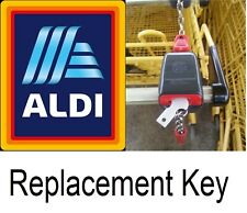 Replacement ALDI Quarter Coin Key Unlock Shopping Cart Removable Reusable