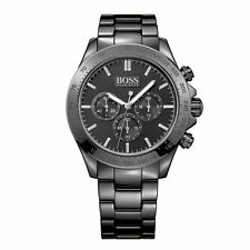 Hugo Boss Ikon Men's 44mm Black Chronograph Watch - 1513197