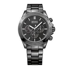 Hugo Boss Ikon Men's 44mm Black Chronograph Watch - 1513197