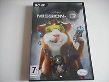 PC DVD ROM -MISSION- G . DISNEY ( avec notice )