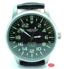 POLJOT AVIATOR 24 Hours Mechanical Military Wristwatch Russian 69