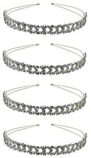 Set of  4 Crystal Heart Headbands Perfect for Bridal Baptism $15.99 for 4 6722-4