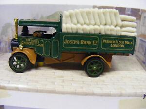 Matchbox Models Of Yesteryear Y27 1922 Foden Steam Wagon Joseph Rank Flour Mills