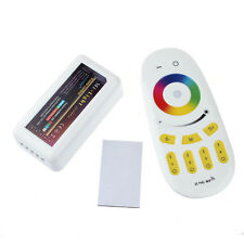 12V 24V 2.4G 4Zone Wireless RF Remote RGBW LED Controller Dimmable Wifi Stylish