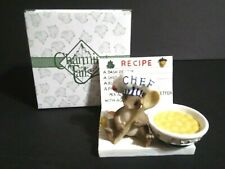 Fitz And Floyd Charming Tails What's Cook in Mouse Recipe 97/ 43 Birthday