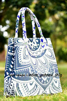 Indian Mandala Multi Tote Bag Shoulder Handbag Cotton Women Satchel Purse Lady_5