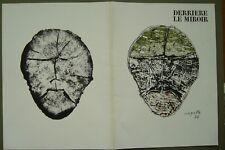 JEAN-PAUL RIOPELLE 2 ORIGINAL LITHOGRAPHS DERRIERE LE MIROIR (SA1c:11, 18)