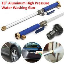 Hydro Water Jet High Pressure Power Washer Water Spray Gun Nozzle Wand Attachmen
