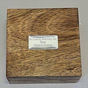 Pet Cremation Urn, Memorial Casket For Cat,Rabbit,Ferret,Hamster,For Ashes