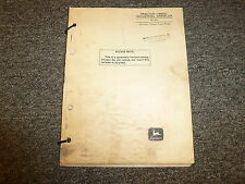 John Deere 440Ic Industrial Crawler Tractor Parts Catalog Manual Manual Pc573
