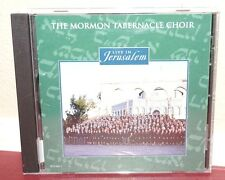 The Mormon Tabernacle Choir CD Live in Jerusalem LDS music