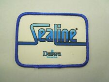 Vintage Sealine Daiwa Rods and Reels Fishing Company Iron On Patch