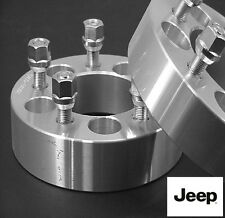 4 Pc JEEP Wrangler 5x4.50 WHEEL SPACER ADAPTER 1.25 Inch # 5450B1/2