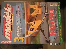 **a Modèle magazine n°589 Plan encarté Pilatus PC-6 électrique / Jaguar 400