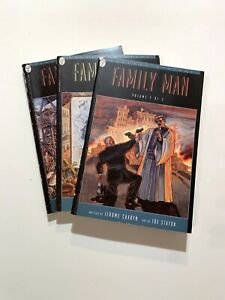 FAMILY MAN Volumes 1, 2 & 3 complete 1995 Paradox Press Digest JEROME CHARYN