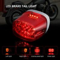 Brake light LED Taillight Tail Light For Electra Glide Sportster XL Softail Dyna