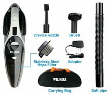 Cordless Hand Held Vacuum Cleaner Bagless Portable Car Garage Vacume Vac Black