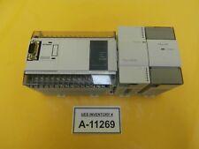 Mitsubishi FX1N-40MR-ES/UL PLC Control Assembly MELSEC FX2N-16EYR FX0N-3A Used