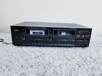 Vintage Teac W-450R Stereo Double Auto-Reverse Cassette Deck Player/Recorder