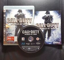Call of Duty World at War (Sony PlayStation 3, 2008) PS3 Game - FREE POST