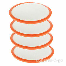4 x Pre Motor Filter Pads for Vax Mach Air Cylinder Power 6 9 Vacuum Cleaners