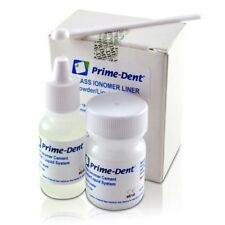 Prime-Dent Permanent Glass Ionomer CEMENT Dental Luting Cement FDA