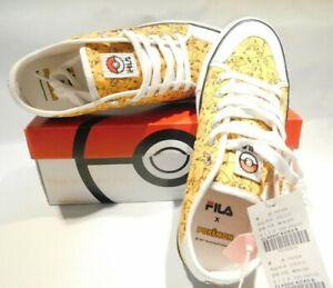 Pokémon Sneakers Fila X Nintendo Shoes Classic Kiks B Orange Men Size 8.5 /27cm
