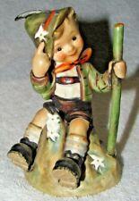 "315 Goebel Hummel Mountaineer 5 1/4"" Tall Figurine Tmk-4 Boy W/ Walking Stick"