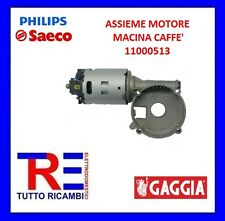 ASSIEME MOTORE MACINA CAFFE' MACCHINA DEL CAFFE' SAECO 11000513
