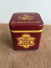Vintage John Middleton's Latakia Club Mixture Tobacco Tin