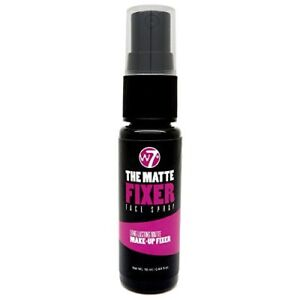 W7 The Fixer Matte Long Lasting Make Up Setting Fixing Face Spray 18ml