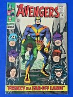 AVENGERS #30 COMIC BOOK 1st App Keeper Of The Flame Marvel Silver Age 1966 FN/VF