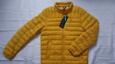 TOMMY HILFIGER NATURAL DOWN PACKABLE QUILTED PUFF YELLOW...