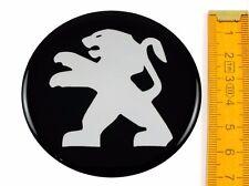 PEUGEOT * 4 pièces * silicone ø70mm Autocollant Emblème jantes autocollant les Enjoliveurs