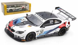Spark SB275 BMW M6 GT3 #42 'BMW Team Schnitzer' 24H Spa 2019 - 1/43 Scale