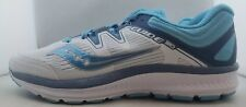 Saucony Guide ISO White/Blue Running Shoes Women's US 8 (P)