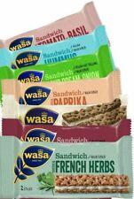 WASA Finnish Crispbread Sandwiches (Vegetarian) - Cheese Chive Tomato Basil...